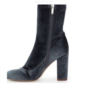 New Sam Edelman Calexa sock bootie Blue Grey